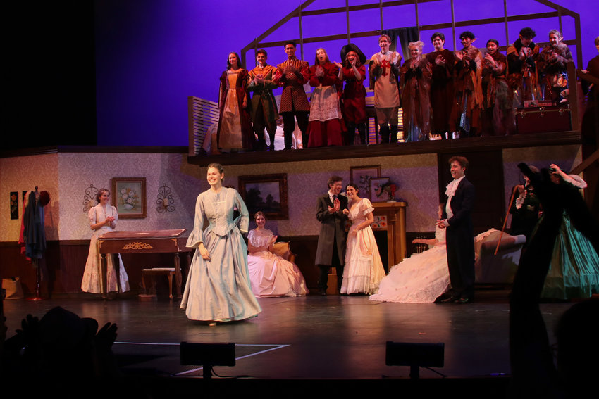 Xavier's Spring 2020 Production of Little Women Musical that honorees took part in. Boys shown in photo are from Brophy.