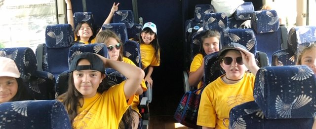 Fourth-graders head to Prescott for the T.T.T. Society's 2019 summer camp. The 2020 camp was canceled due to the COVID-19 pandemic.