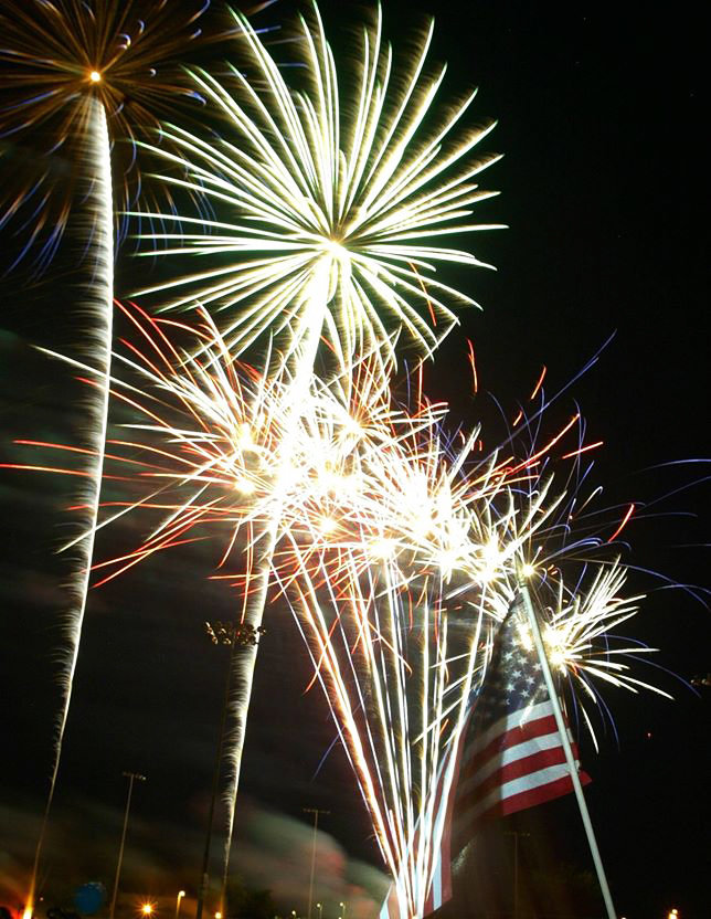 Fireworks will be launched from three different sites around Peoria and streamed online.