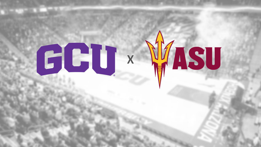 Grand Canyon University and Arizona State University will meet during the 2020-21 season for the first time as Division I opponents.