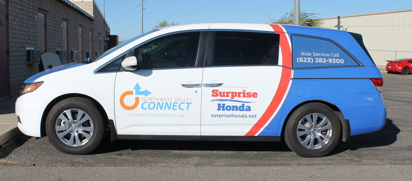 Northwest Valley Connect is mostly known for providing transportation to local residents who can't drive themselves. Their hope is to expand their service to also include regular transit service.