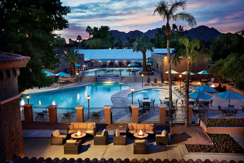 Glacier Pool Coolers recently installed three pool chillers at The Scottsdale Plaza Resort.