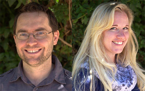 """Shelby and Brian Maticic, of Glendale's Brelby Theatre Company, will be participating gin the July 14 """"The 24 Hour Plays: Viral Monologues"""" event."""