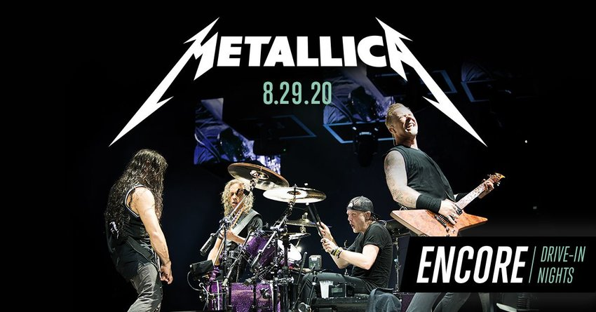 "A ""Metallica""virtual drive-in concert will be 7:30 p.m., Aug. 29 at WestWorld of Scottsdale Polo Fields, 16601 N. Pima Road."