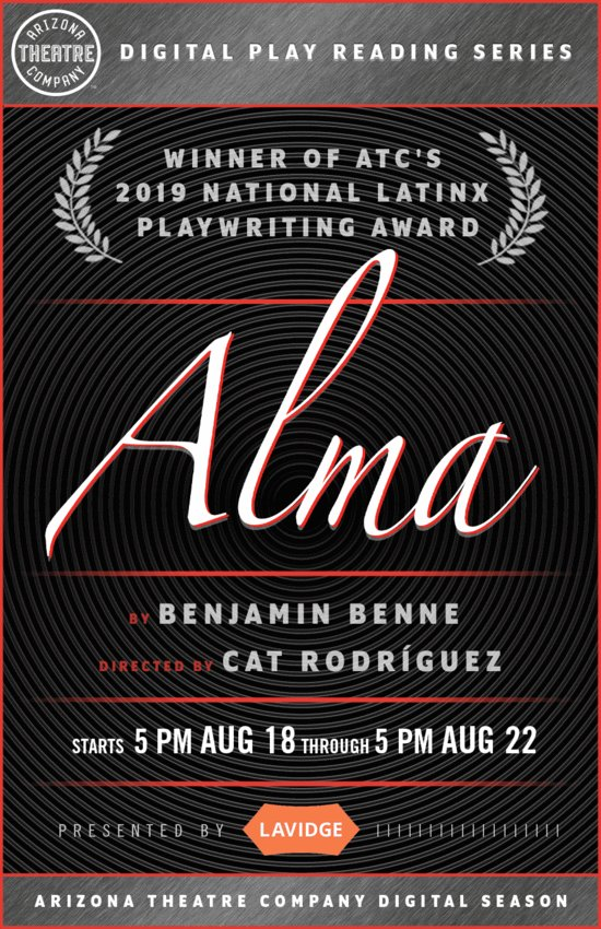 Arizona Theatre Company launches the first of its series of creative digital performances with Alma.
