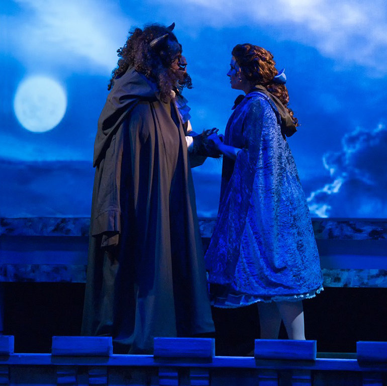 """A nominee for best overall production (musical) is Zao Theatre's """"Disney's Beauty and the Beast."""""""