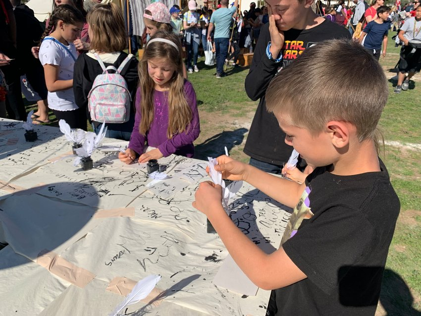 Homeschooled students from the Highlands Latin Cottage School participate in cultural and nature activities every other Friday as part of their learning. The cottage school brings together homeschooled students in the Paradise Valley, Phoenix and Scottsdale area.