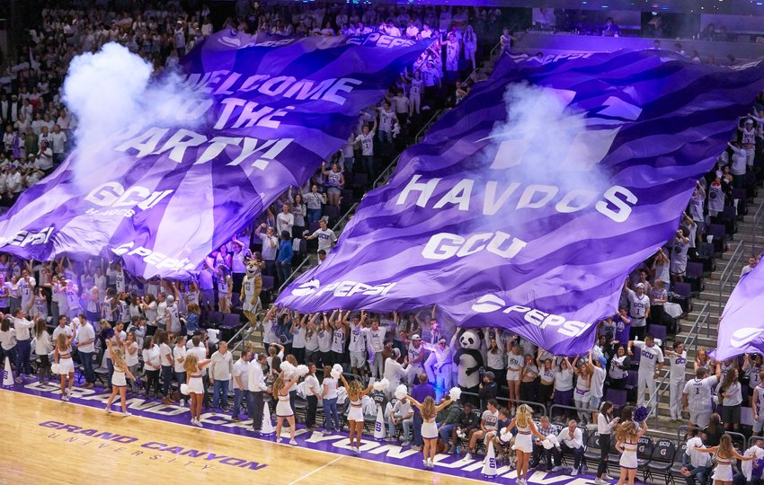 Grand Canyon University men's basketball announced its nonconference slate for the 2020-21 season.