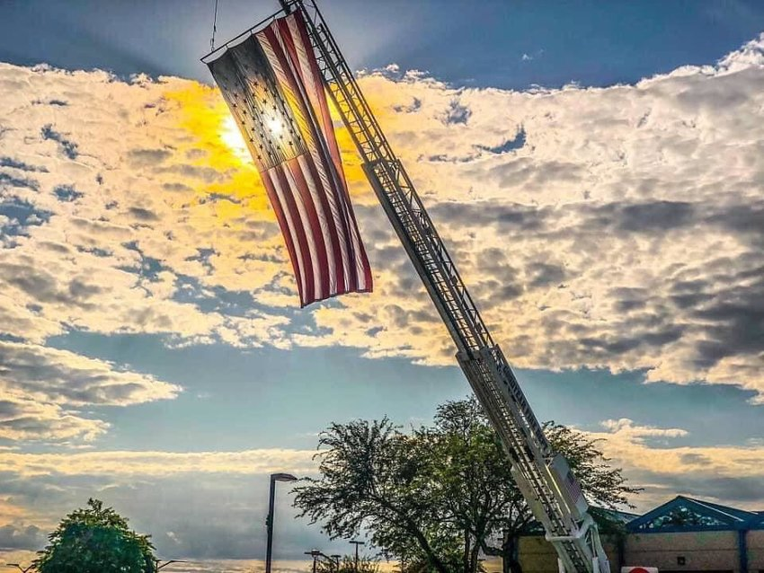 Goodyear will observe the anniversary of the Sept. 11, 2001, terror attacks with a virtual flag-raising Friday, Sept. 11.