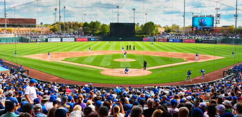 The White Sox announced their 2021 spring training schedule at Camelback Ranch-Glendale.