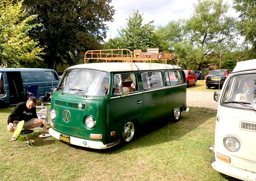 VW enthusiasts and their classic rides will be on display at VolkStock.