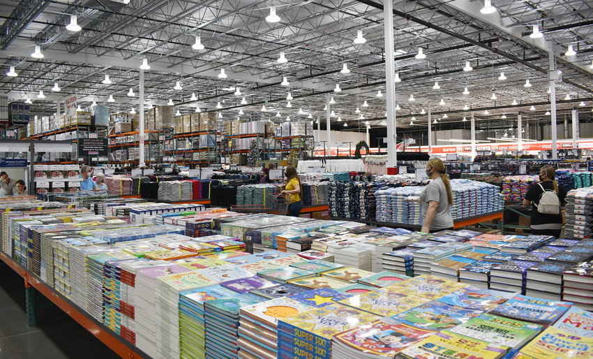 If you ask local shoppers, there are subtle differences between the new Costco, shown here, and Sam's Club.