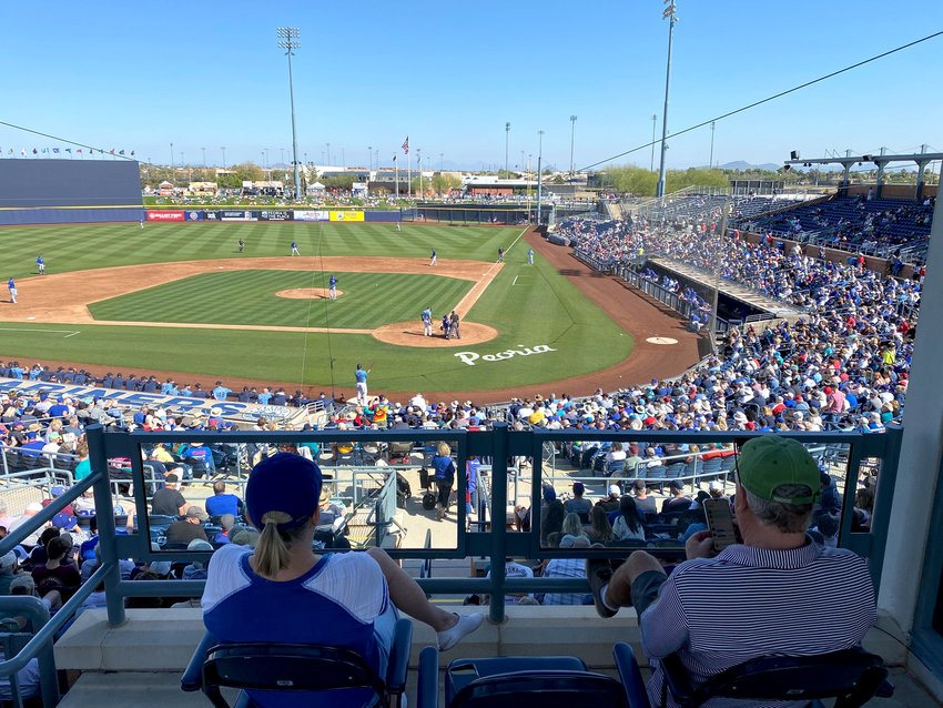 Spring training at Peoria Sports Complex is scheduled to host its first game of 2021 when the Mariners and Padres meet on Feb. 27.