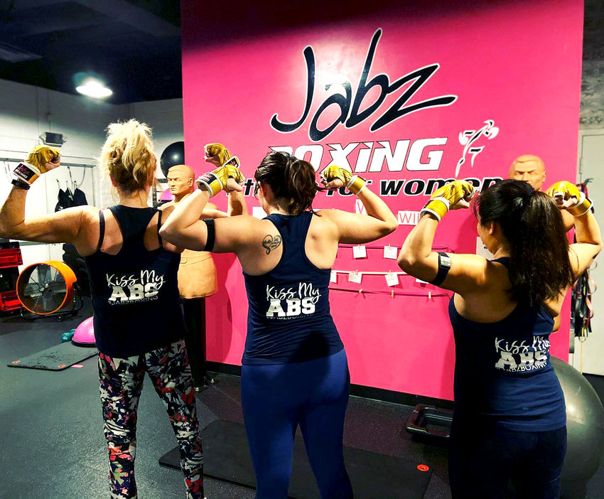 Jabz studio in Glendale (pictured) will team up with Bright Pink for special classes Oct. 25-31.