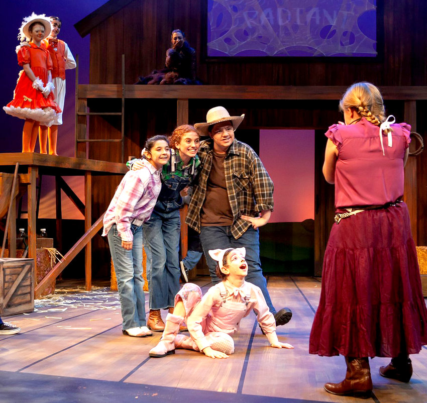 """""""Charlotte's Web,"""" which played at YouthWorks in January of this year, earned a Zoni for Best Overall Production for a Youth Play."""