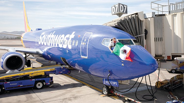 Southwest Airlines took off with two new flights to Mexico this week.
