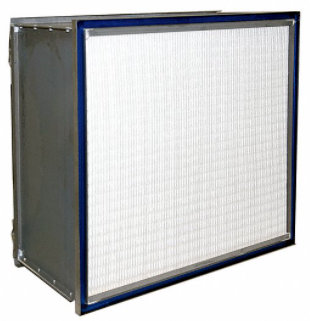 This image of a 24x24 HEPA air filter is courtesy of grainger.com.