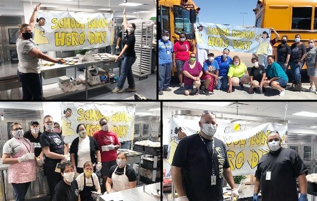 Agua Fria Union High School District Food Services personnel were poised and ready for the district's hybrid transition.