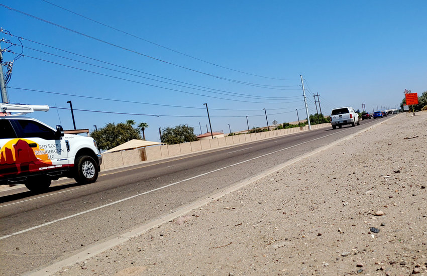 Looking just east of the intersection of Glendale Avenue and El Mirage Road in Glendale, depicts one of the targeted street improvement projects.