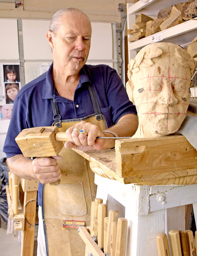 Peoria wood sculptor Matt Werner is one of 140 artists participating in the Hidden in the Hills Artist Studio Tour during the last two weekends of November.