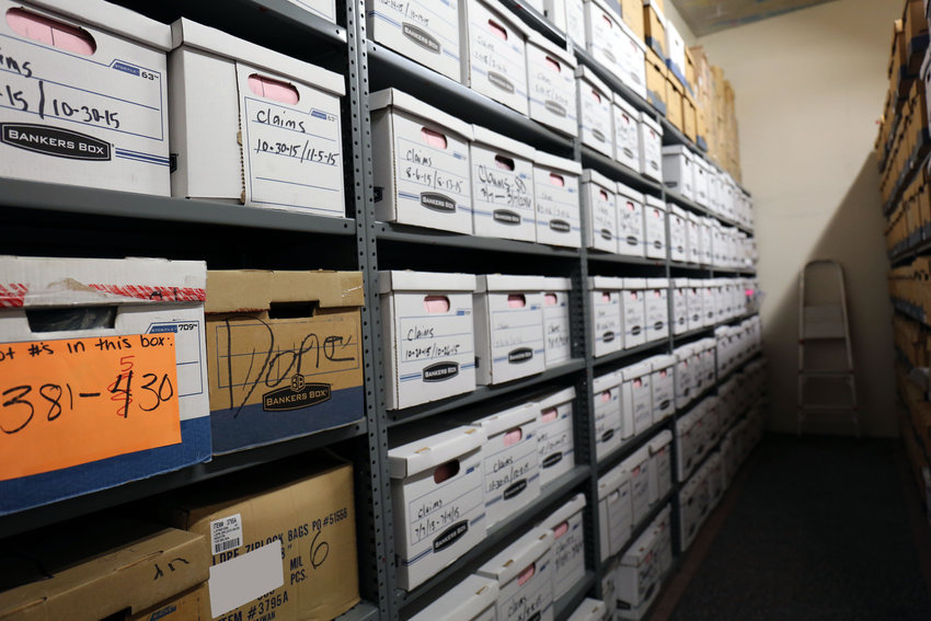 Arizona Department Revenue has stacks of files listing unclaimed property going back more than 30 years. A total of $7 million belongs to military personnel stationed at bases throughout the state.