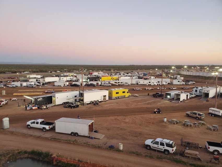Arizona Speedway is at 48700 N. Ironwood Drive in Queen Creek. It is within ET Motopark, 5 miles south of U.S. Highway 60 in Apache Junction. Photo from Facebook @ArizonaSpeedway.