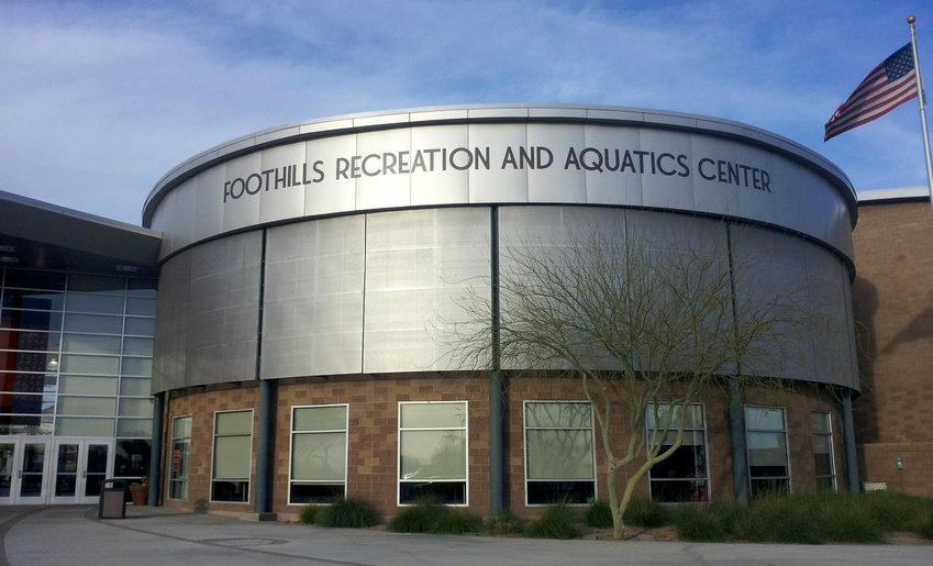 The Foothills Recreation and Aquatics Center will be closed Dec. 25, Dec. 26, and Jan. 1. The center will be open Dec. 24 (10 a.m. to noon), and Dec. 31 (10 a.m. to 5 p.m.).
