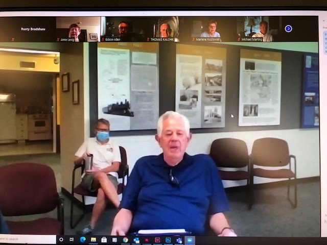 Don Tuffs, Sun Cities Historical Society board president, led a combined in-person and Zoom annual meeting for the organization in which a virtual preview tour of the refocused museum was shown.
