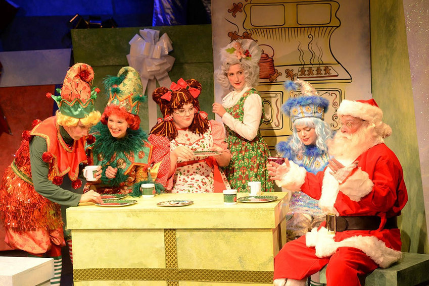 """The 2019 performance of """"Eleanor's Very Merry Christmas Wish — The Musical,"""" seen here, is now available on streaming video and can be purchased through Dec. 27."""