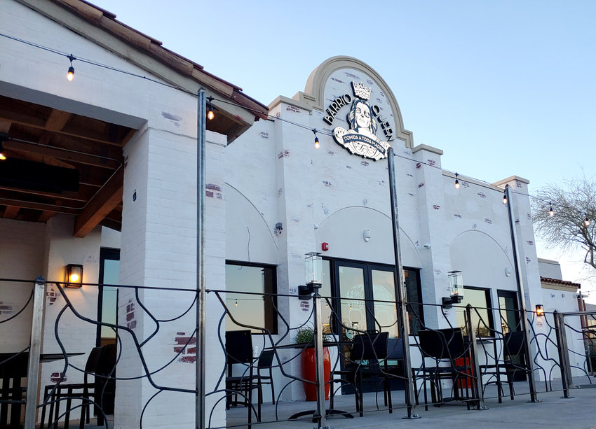 The new Barrio Queen, in the Arrowhead Towne Center in Glendale, is pictured Dec. 23.