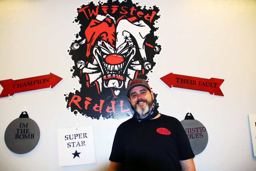 Jason Bach opened Twiisted Riddles escape room in February in memory of his daughter and grandson.