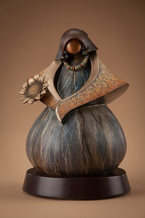 Bronze sculptures by Arizona artist Kim Seyesnem Obrzut will be among the art on display during the 2021 Litchfield Park Gathering.