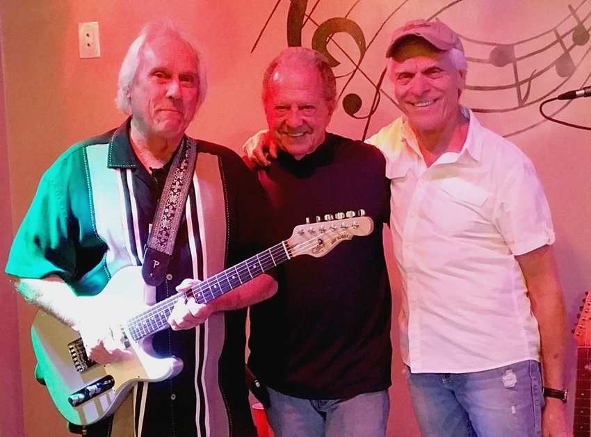 Guy Dobbins, Larry Kubiayk and Scott Severtson -- as the Rockin The Blues trio -- have upcoming gigs in Peoria, Wickenburg and Sun City.