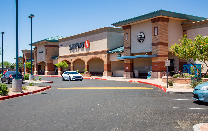 On 11.23 acres at the northeast corner of North Main Street and Dobson Road, Tri-City Pavilions was completed in 2000.