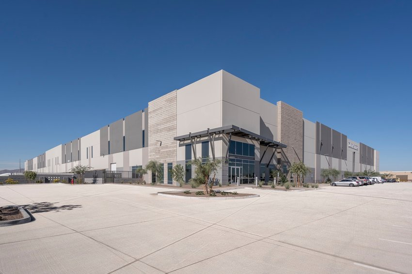The building housing Daimler Trucks North America's parts distribution facility in Goodyear sold for $43.1 million.