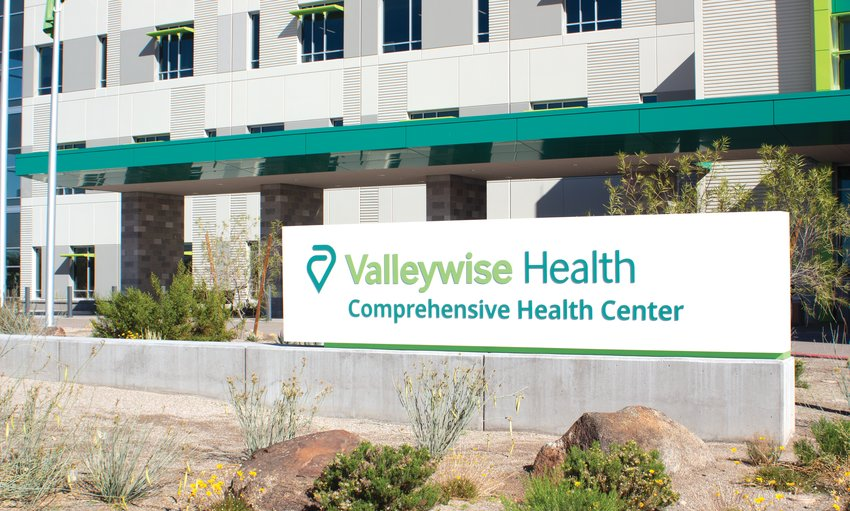 Valleywise Comprehensive Health Center is scheduled to open this week in Peoria at Grand Avenue and Cotton Crossing.