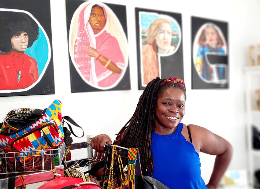 Nadira Jenkins-El, a culinary-trained chef, owns and operates Cosmic Vegans in downtown Glendale.