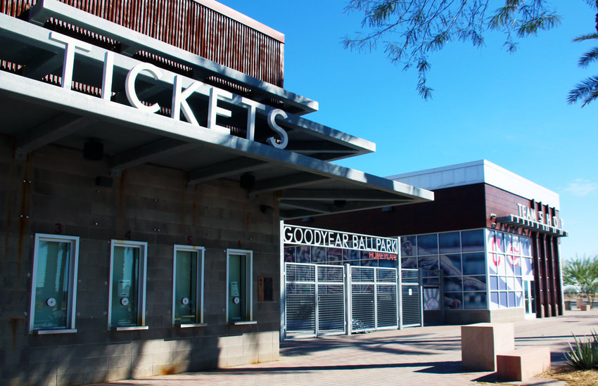 Single-game tickets for spring training games at Goodyear Ballpark will open at 10 a.m. MST Friday, Feb. 19. The ballpark ticket office is scheduled to open Feb. 25.