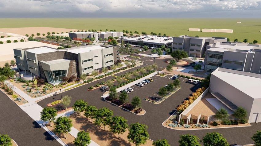 A rendering of the expansion at EVIT Power Campus, 6625 S. Power Road.