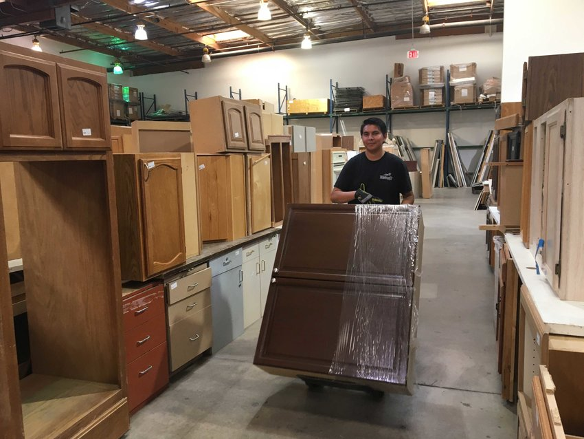 The first business in Mesa to achieve certification is Stardust Building Supplies, 1720 W. Broadway Road. Its mission is to provide quality reclaimed materials for reuse.
