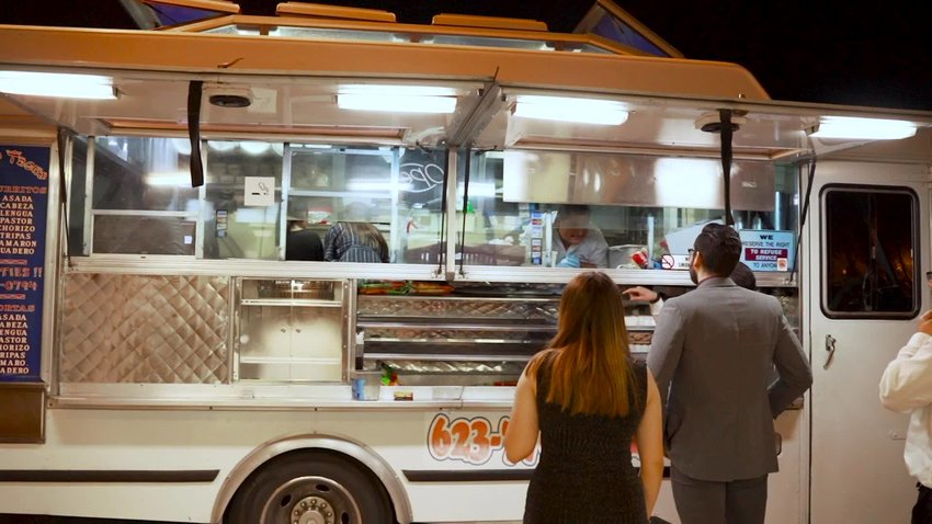 Waldo's Tacos has a food truck that operates on Grand Avenue in Peoria. The city is working toward regulating the use of mobile food vendors.
