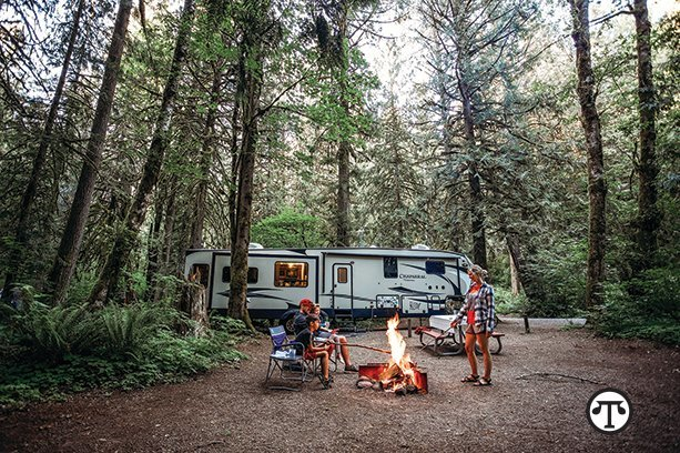 You can get your next vacation on the road to fun, safety and savings when you rent an RV.