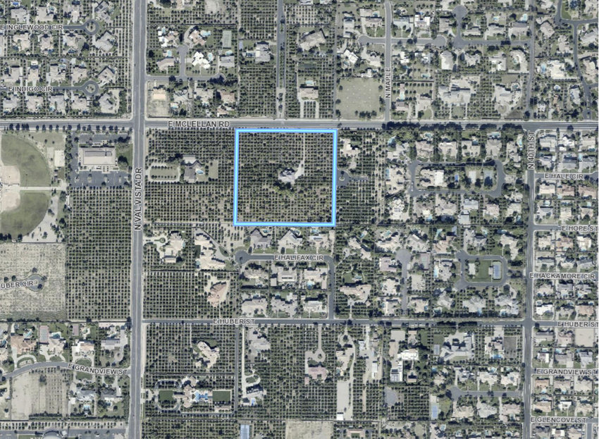 The Mesa Planning and Zoning Board voted unanimously Feb. 24 in a consent agenda with other items to recommend the City Council approve the plats and rezoning for the south side of the 3600 to 3800 blocks of East McLellan Road.