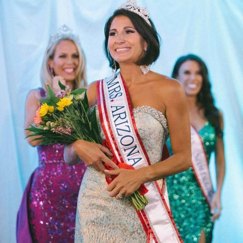 Arpi Hamilton was crowned Mrs. Arizona America 2020 on the third anniversary of her cancer remission.