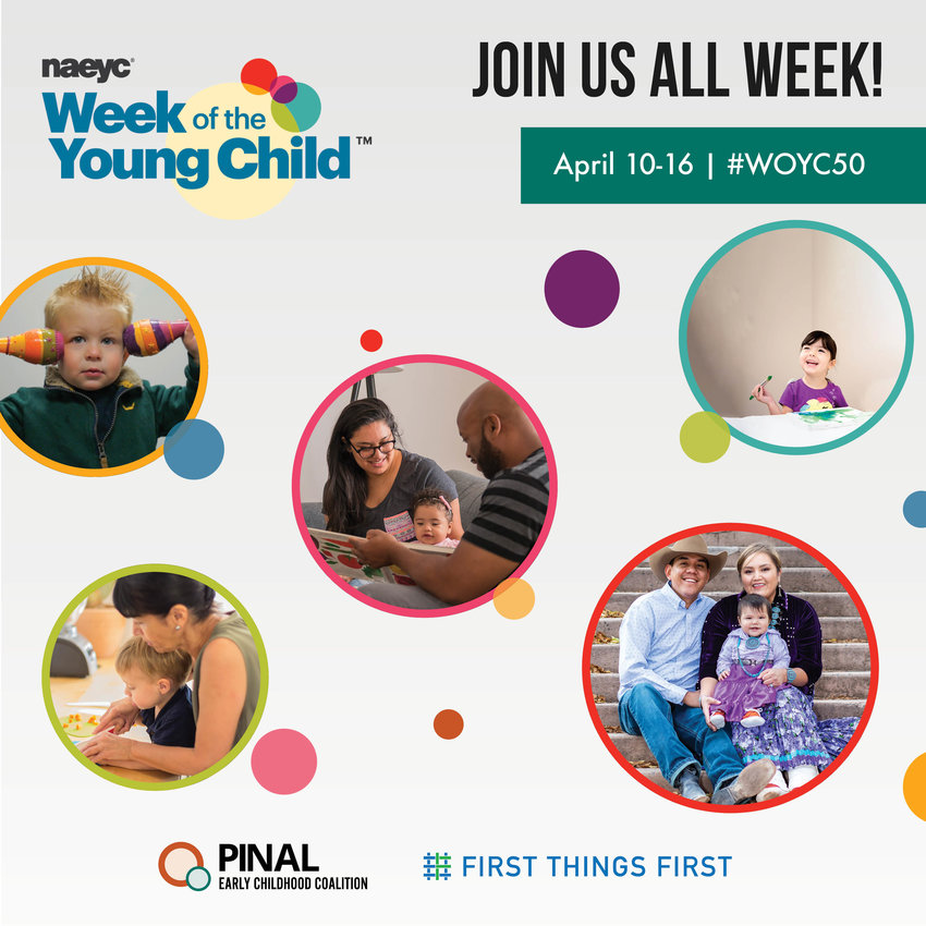 Parents and caregivers can register at http://bit.ly/PinalWOYC2021 for these free events.