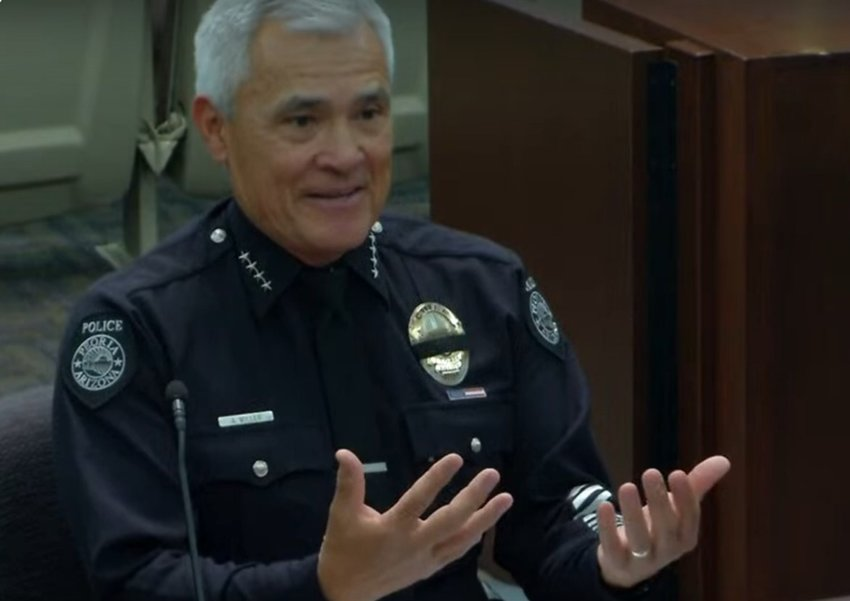 Peoria Police Chief Art Miller discusses the new Traumatic Event Exposure program that promotes seeking psychological assistance for clarity and coping skills.