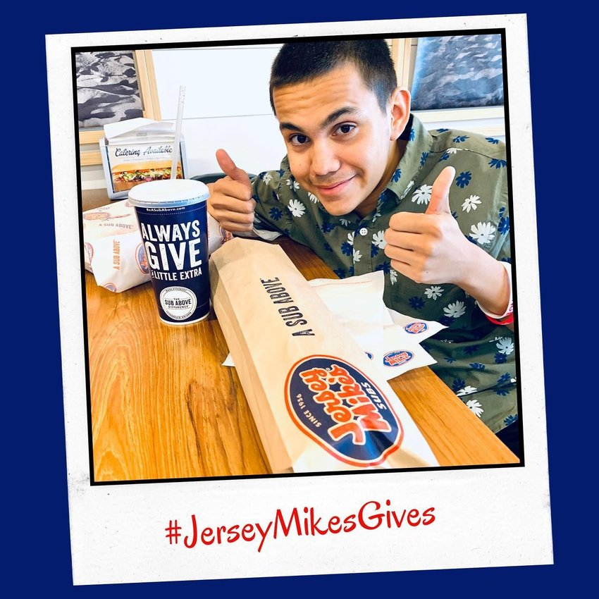 Jersey Mike's will donate 100% of proceeds to Phoenix Children's Hospital for the restaurant's day of giving on Wednesday, March 31.