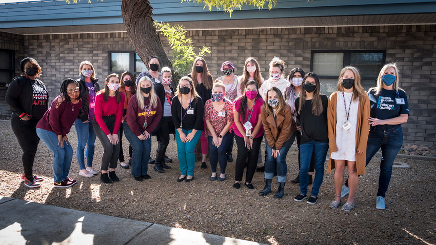 Peoria Unified is celebrating its school social workers during the month of March.