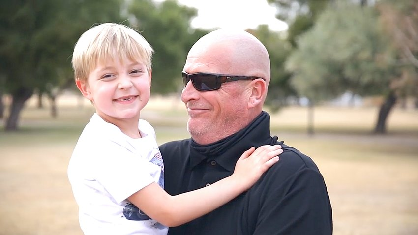 Surprise resident Ken Money is an advocate for his son and other autistic children. [Submitted photo]