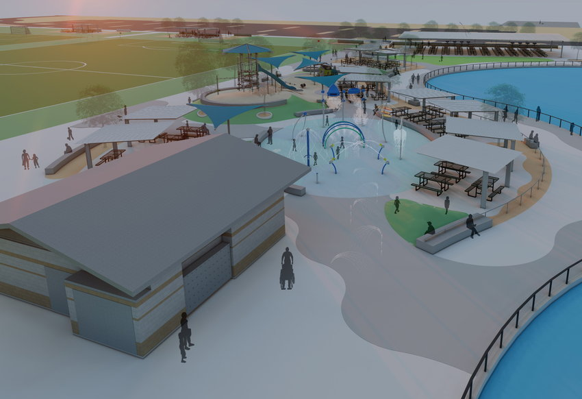 A rendering of Sundance Park's Phase II expansion, which will add 38 acres to the existing Buckeye park.